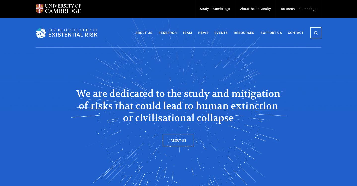 Resultado de imagen de cSER existential risk